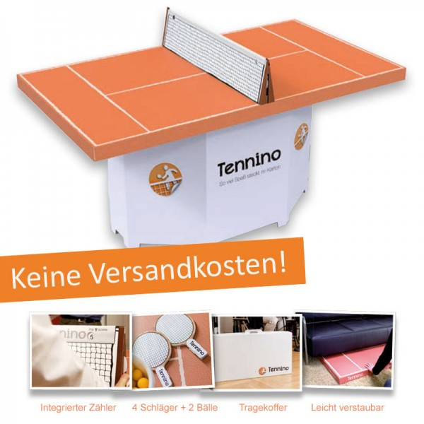 Tennino - Mini-Tenniscourt für Home und Office